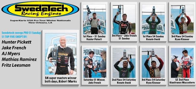 Swedetech Wins 5 Main Events in NOLA