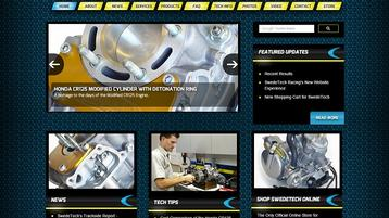 New Look and Feel for SwedeTech Racing's Online Presence.